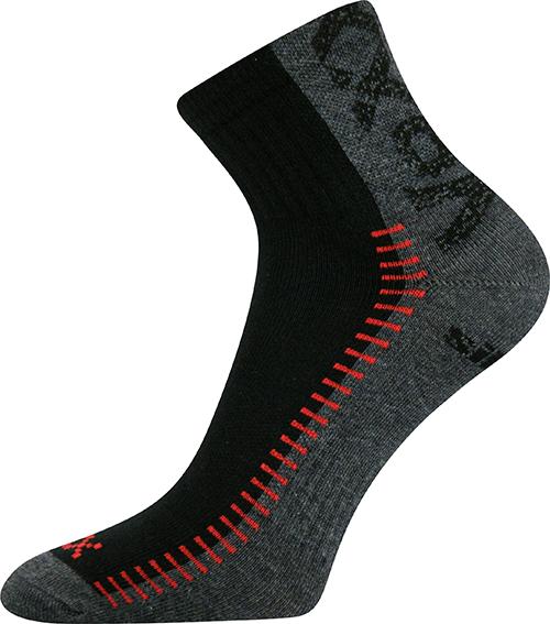 Voxx Ponožky Revolt - černá velikost: 35-38