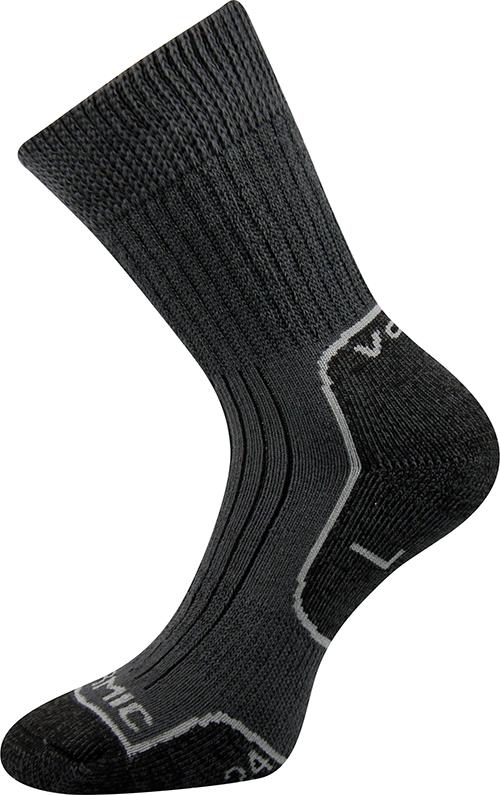 Voxx Ponožky Zenith - šedá velikost: 52-54