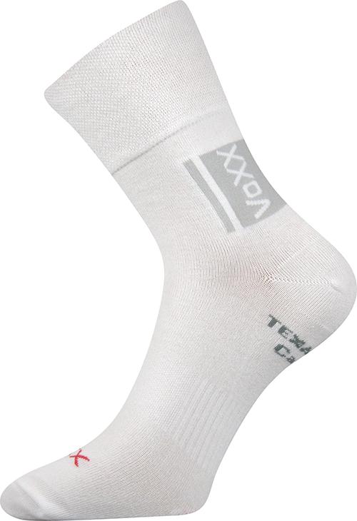 Voxx Ponožky Optifan - bílá velikost: 35-38