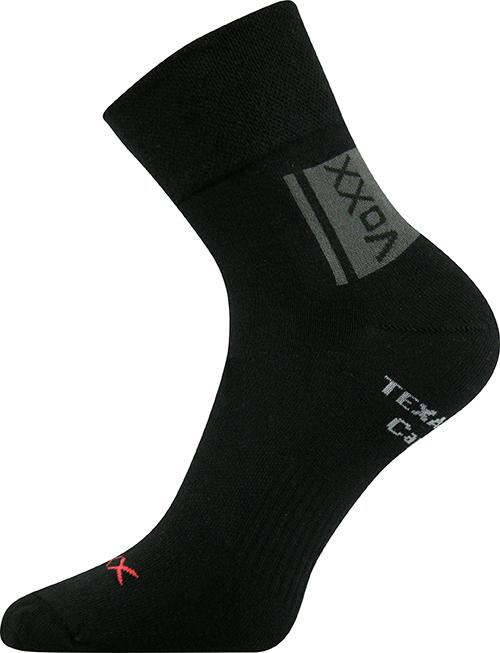 Voxx Ponožky Optifan - černá velikost: 35-38