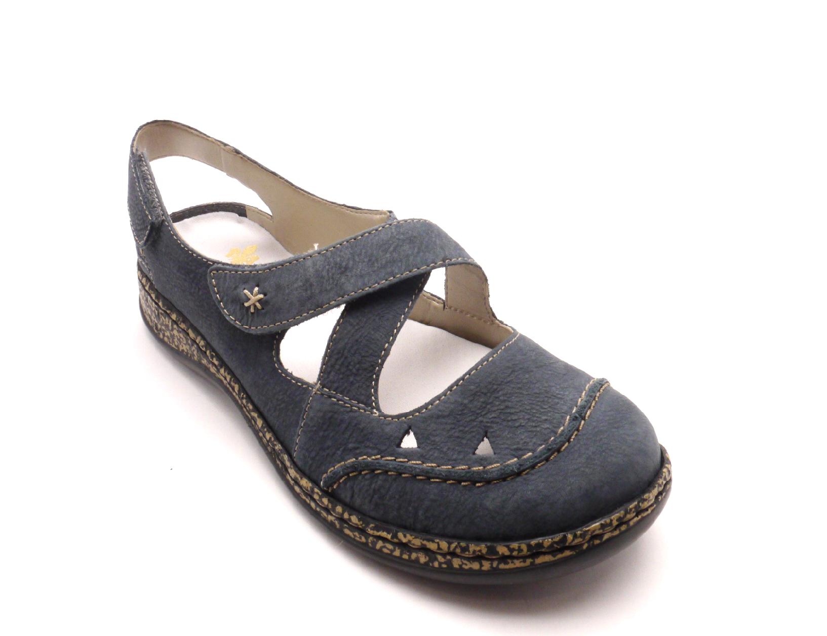 Rieker Dámské pohodlné sandály 46379-14 Velikost: 38