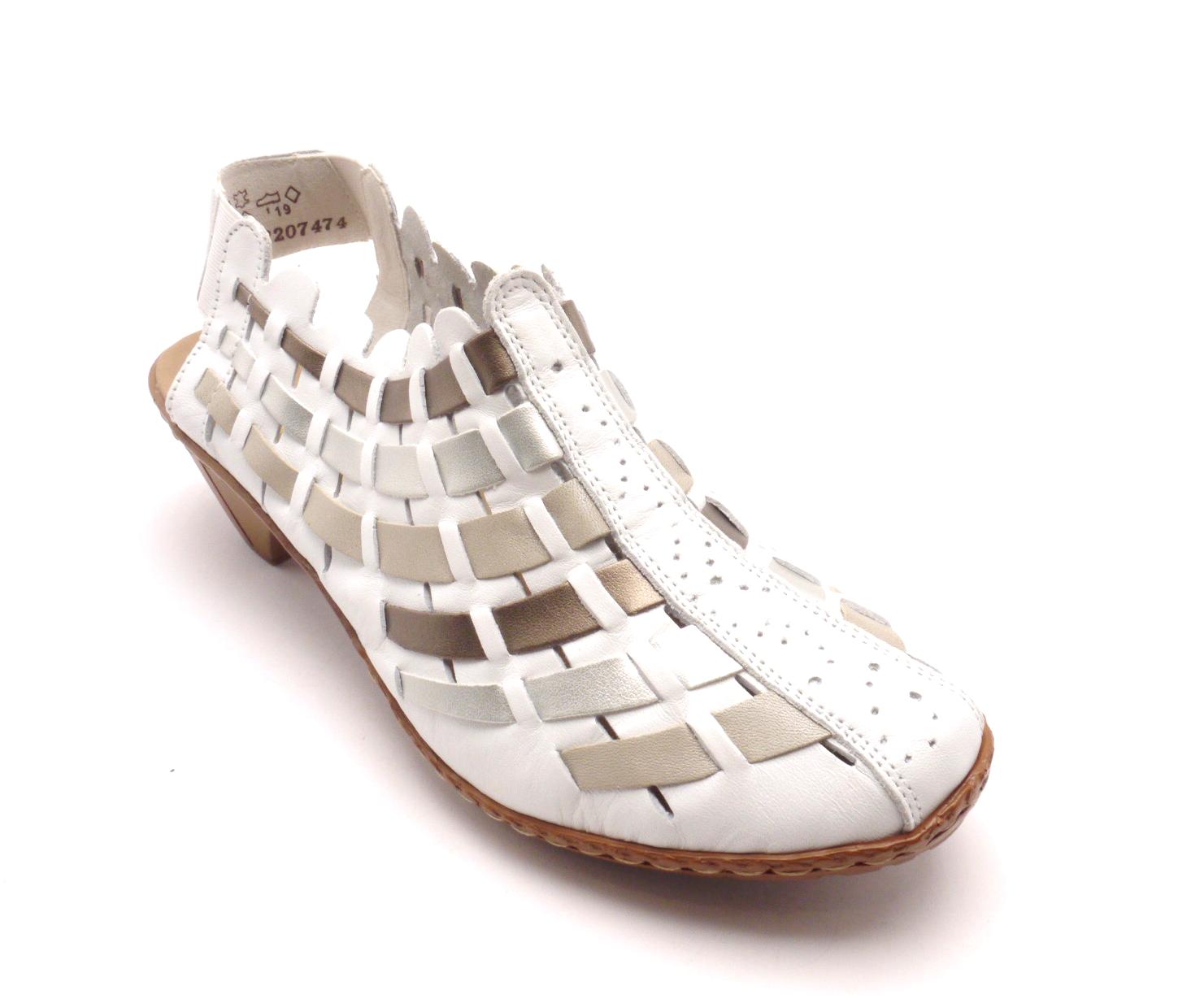 Rieker Dámská proplétaná obuv 46778-81 Velikost: 36