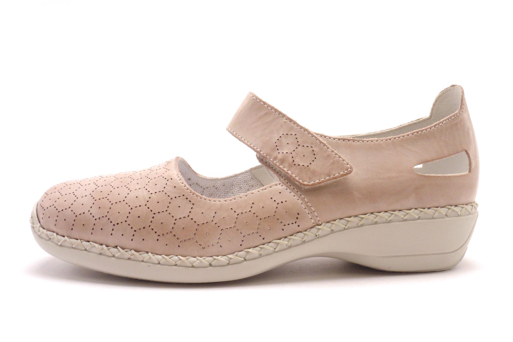 Rieker Dámská pohodlná obuv 41357-31 Velikost  42 784eea34183