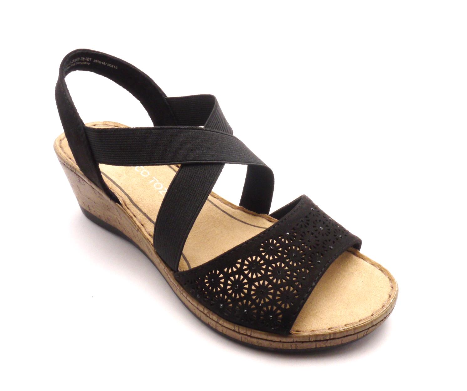 Marco Tozzi Dámské sandály 2-28502-28 Velikost: 36