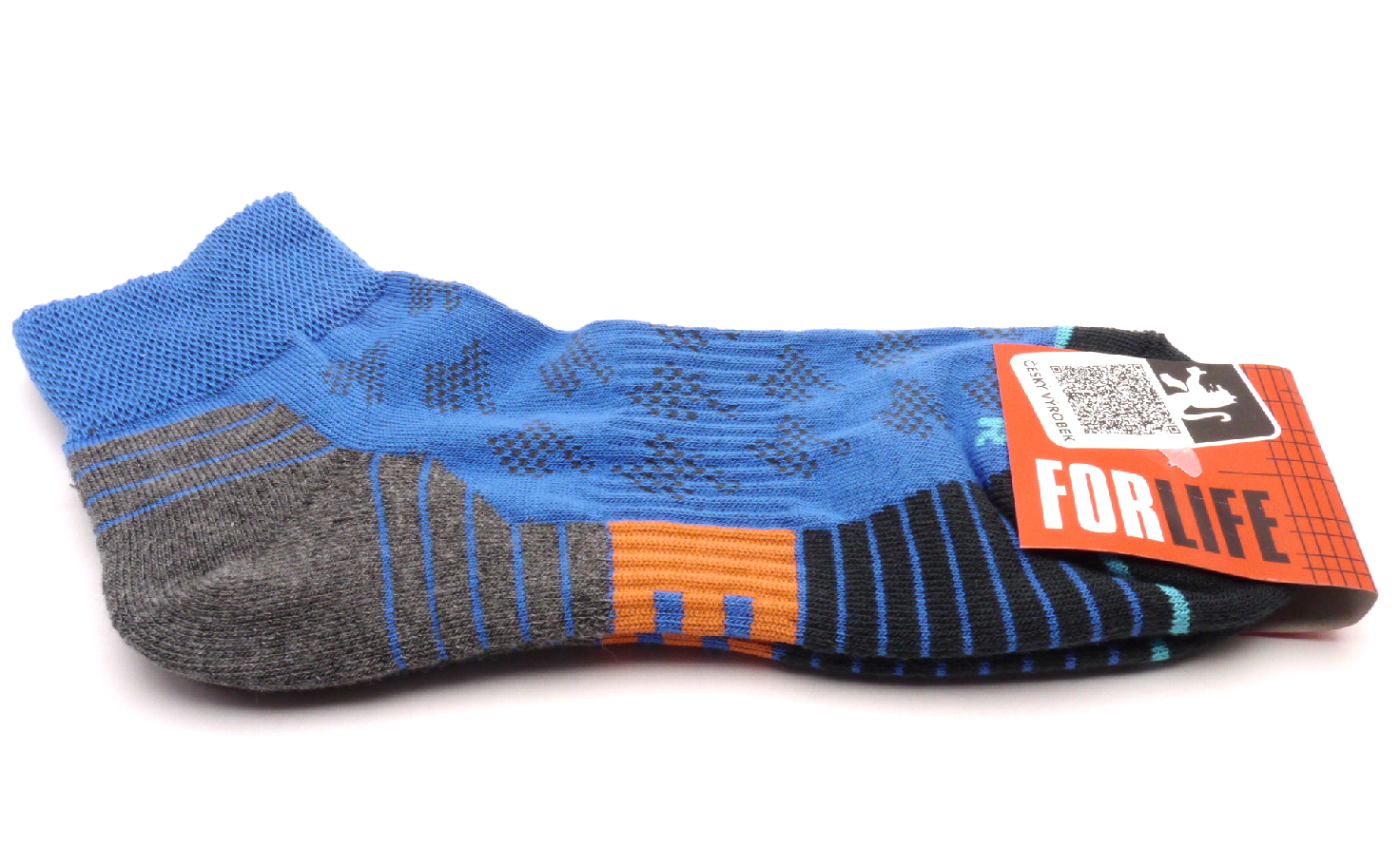 Tapo Ponožky Run - modrý velikost: 35-38