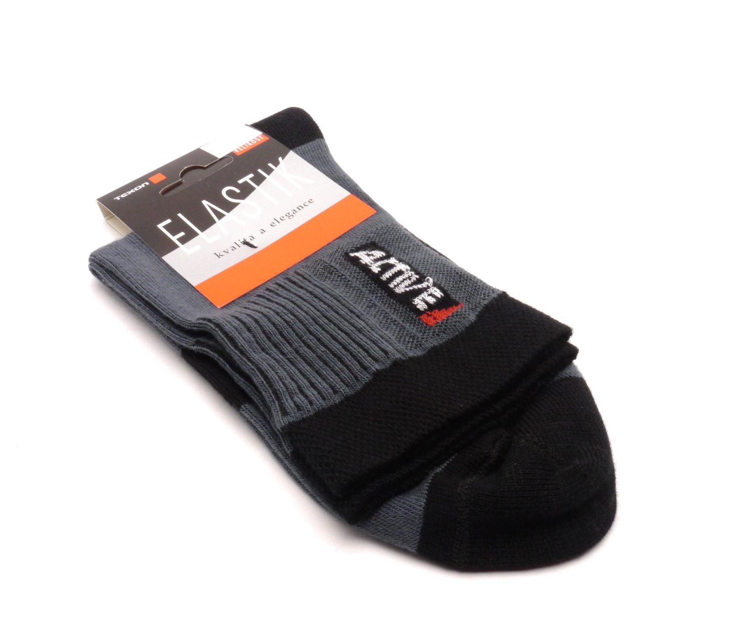 Texon Ponožky Active - šedá velikost: 36-37