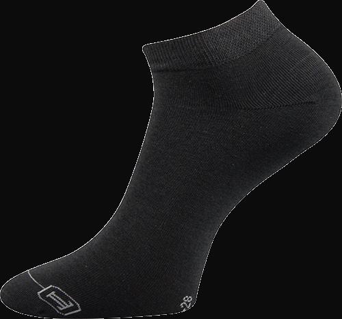 Lonka Ponožky Debi - tmavě šedá velikost: 35-38