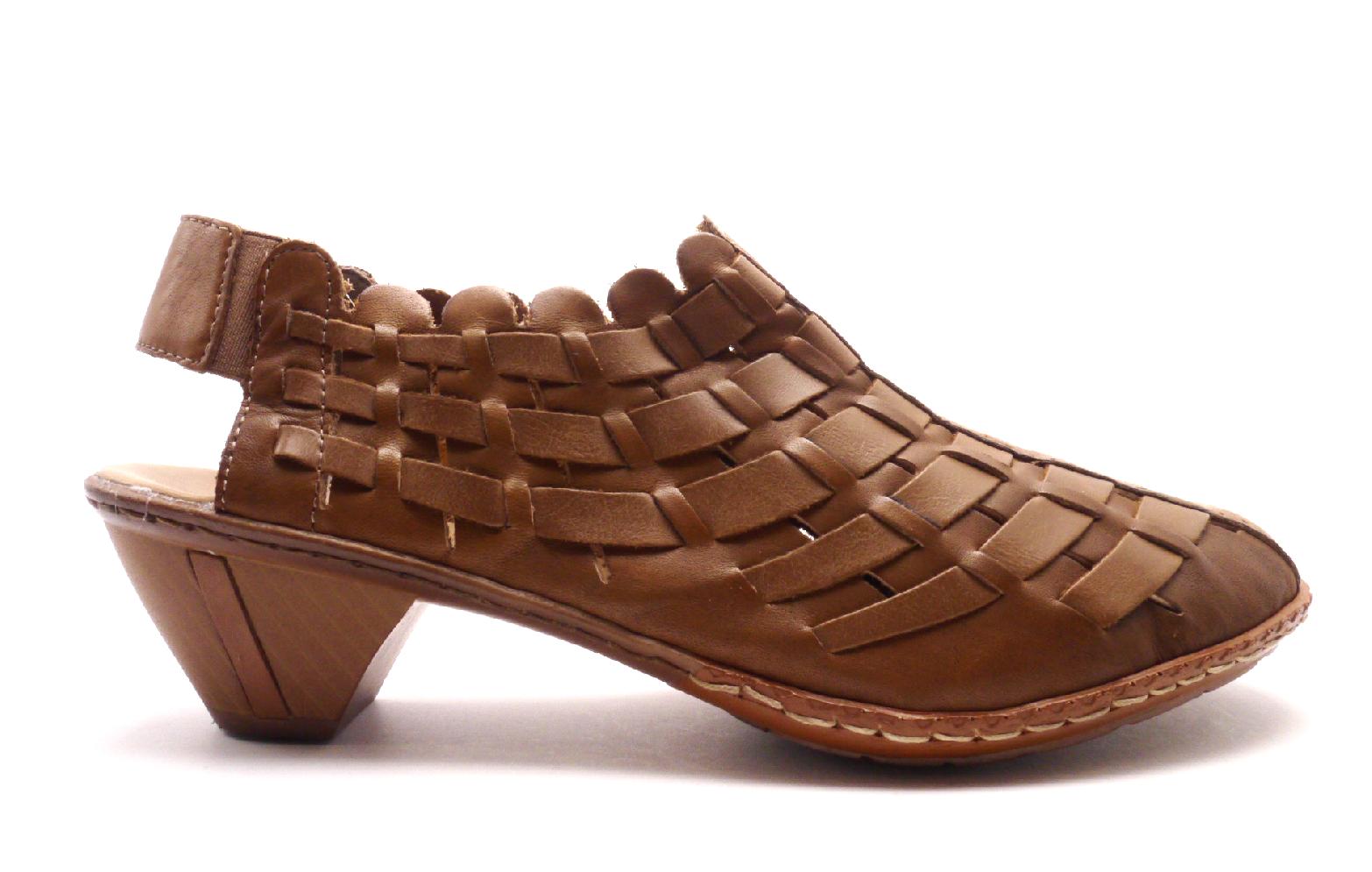 Rieker Dámská proplétaná obuv 46778-22 Velikost: 38