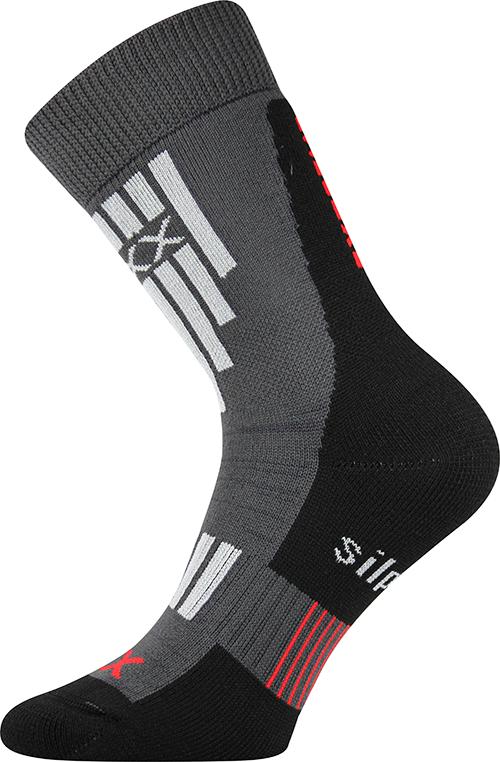 Voxx Ponožky Extrém - tmavě šedá velikost: 35-38