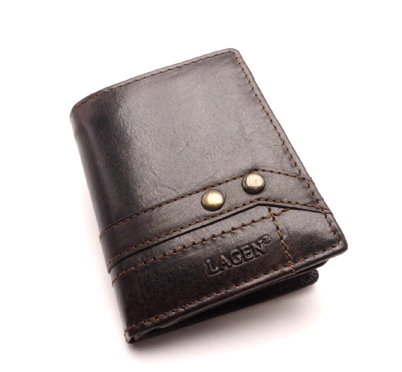 Lagen Pánská kožená peněženka 558nc/t