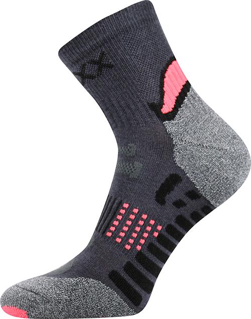 Voxx Ponožky Integra - oranžová velikost: 43-46