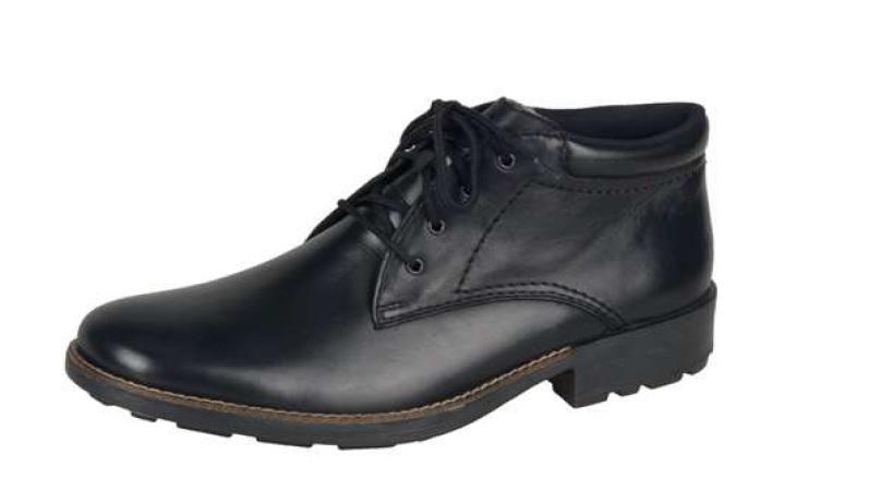 Rieker Pánská šněrovací elegantní obuv s pravým beránkem 16030-00 Velikost: 44