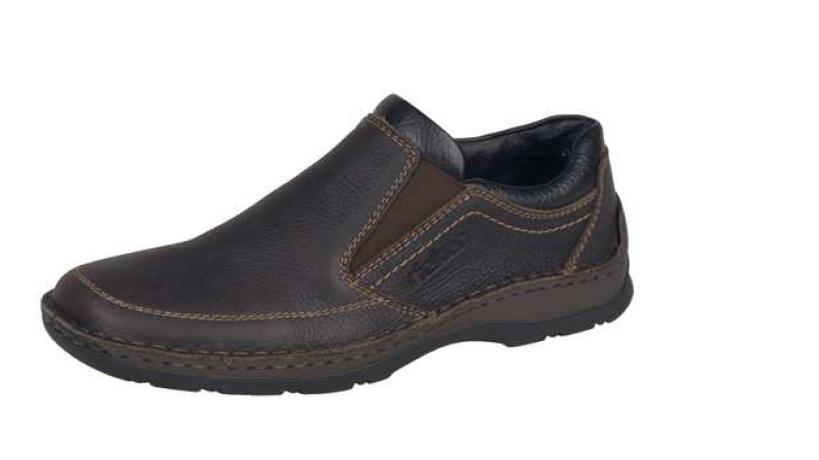 Rieker Pánská mokasína modní pohodlná obuv 05369-25 Velikost: 46