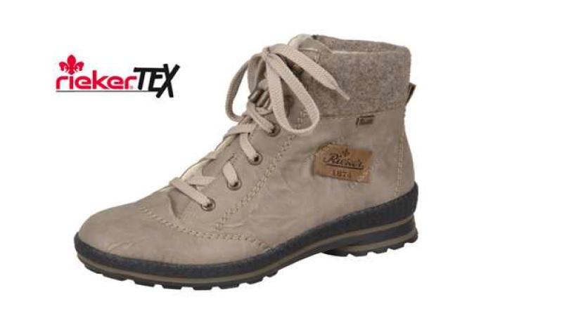 Rieker Dámská pohodlná obuv s kožíškem z2430-64 Velikost  41 3948e7443e