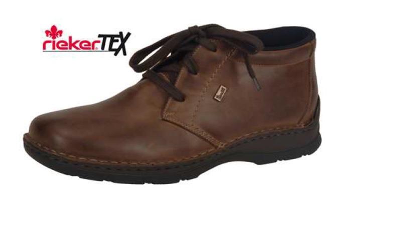 Rieker Pánská pohodlná zimní obuv s ovečkou 05344-25 Velikost: 43