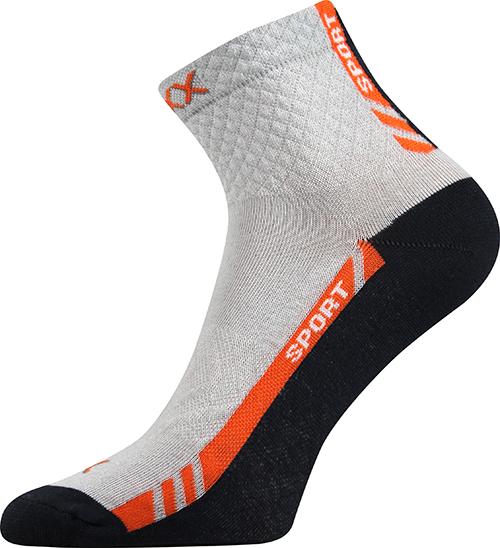 Voxx Ponožky Pius - sv.šedá velikost: 35-38