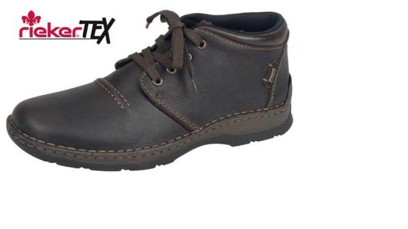 Rieker Pánská módní obuv s kožíškem 05343-25 Velikost  41 87a99b478d