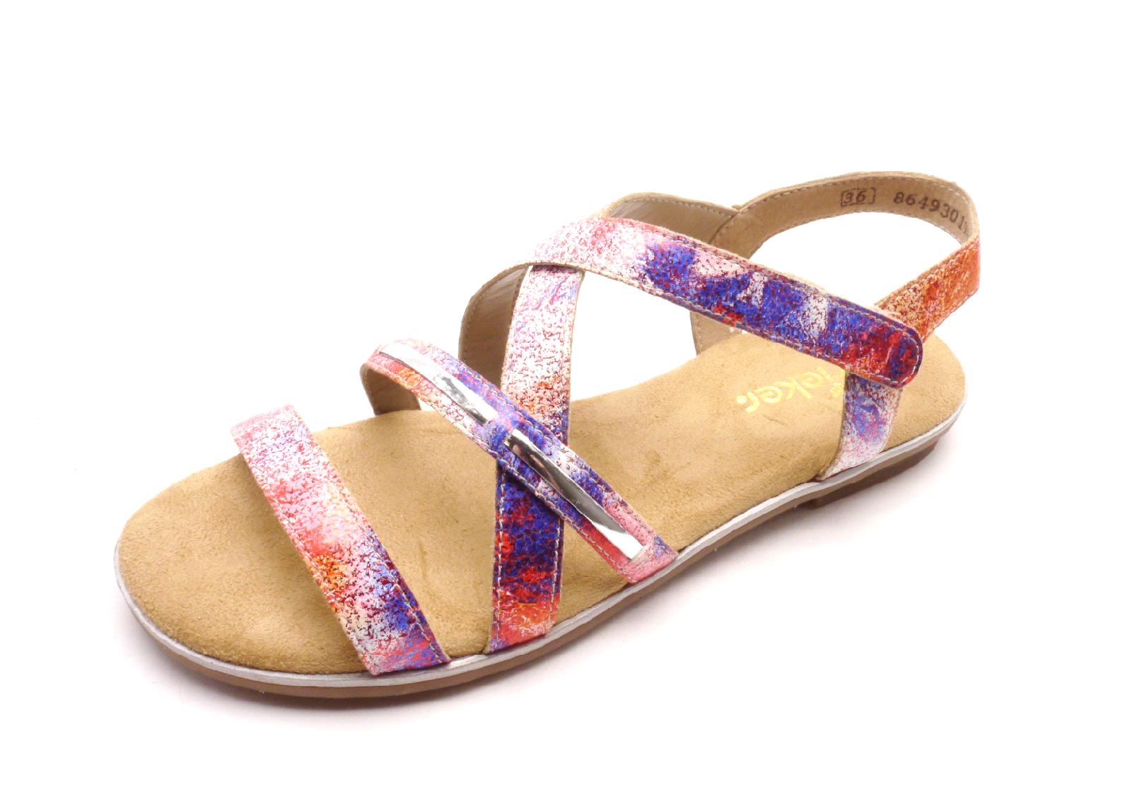 Rieker Dámské sandály K0850-91 Velikost: 36