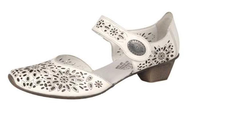 Rieker Dámská perforovaná obuv 49745-80 Velikost: 37