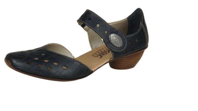Rieker Dámská elegantní perforovaná obuv 43754-00 Velikost: 36
