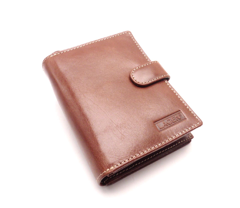 Lagen Dámská kožená peněženka B03 Brown