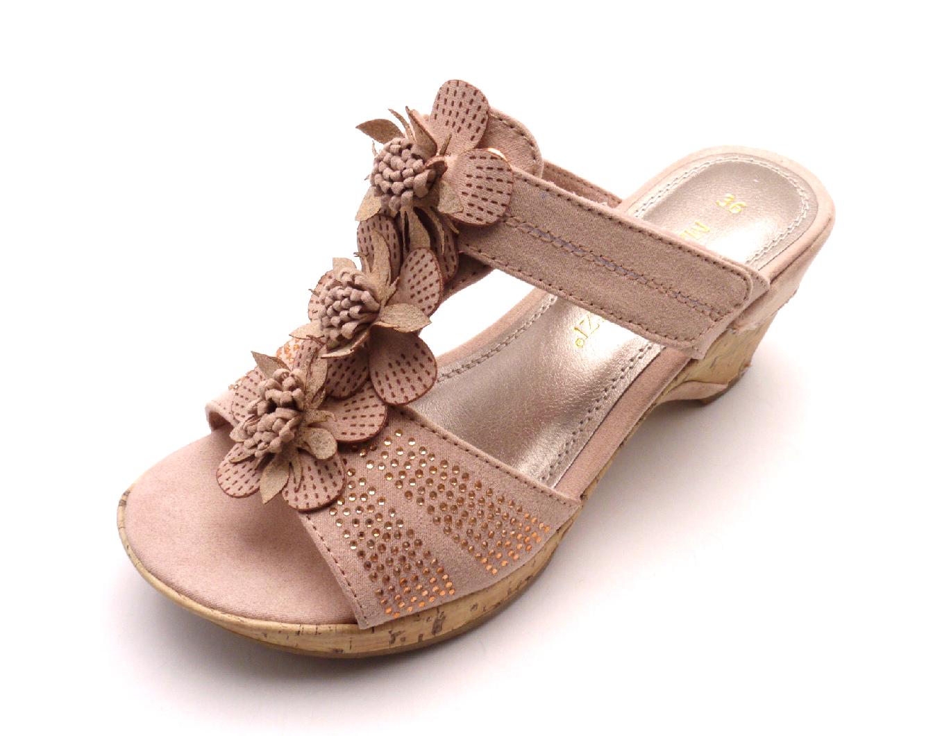 Marco Tozzi Dámské pantofle 27213-28 ROSE Velikost: 36