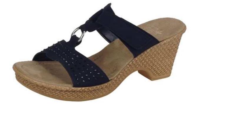 Rieker Dámské elegantní pantofle 66082-01 Velikost  36 a45206c8d18