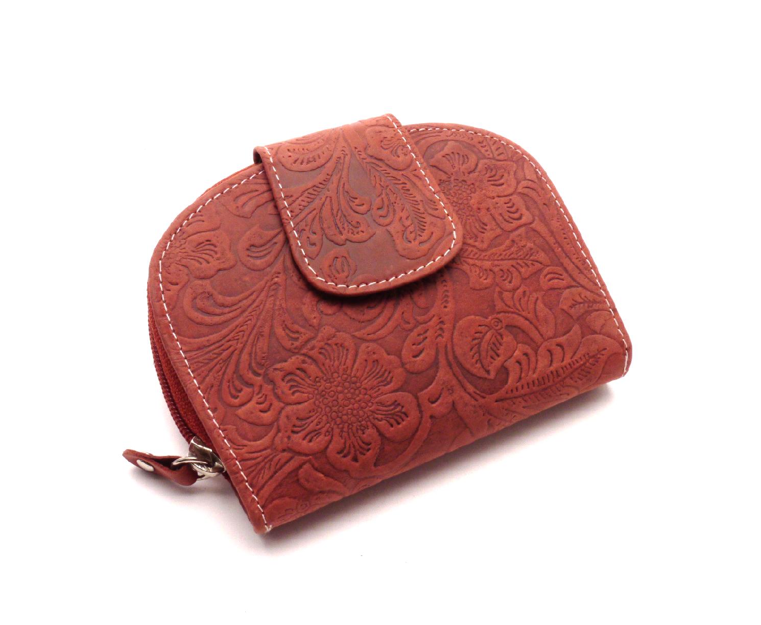 Anekta Dámská peněženka s ornamenty D191-38 RED