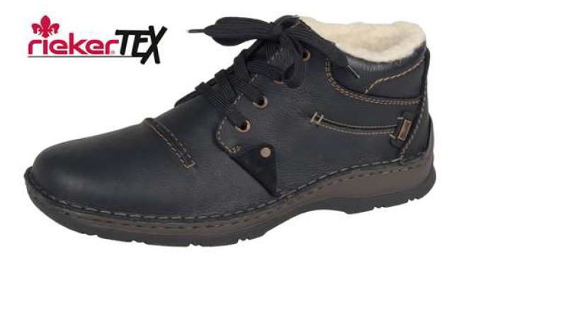 Rieker Pánská obuv s ovečkou 05334-00 Velikost: 41