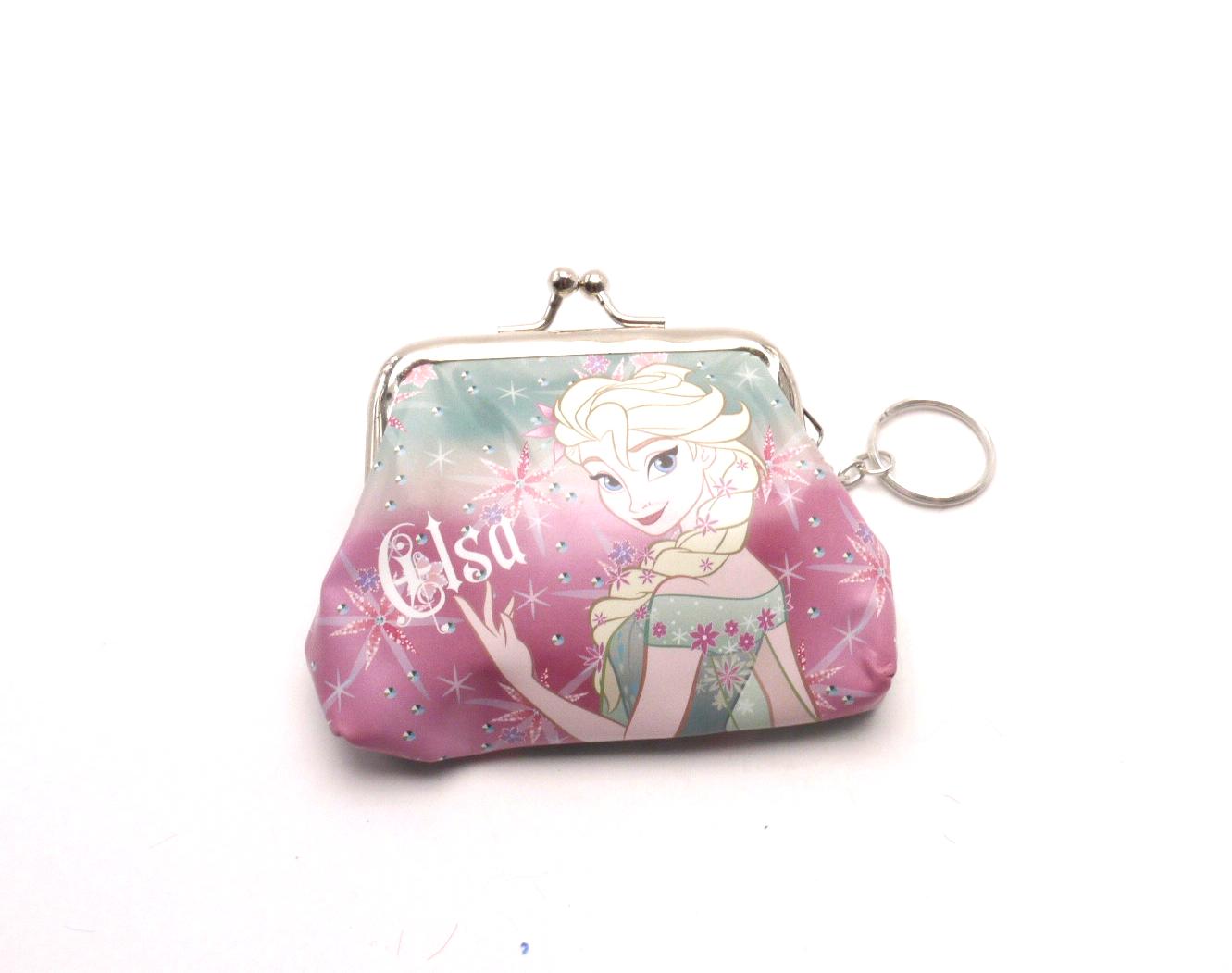 MCM Dětská peněženka s kroužkem na klíče QE4924-1 Frozen