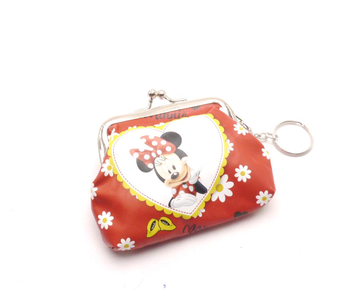 MCM Dětská peněženka s kroužkem na klíče QE4927-2 Minnie