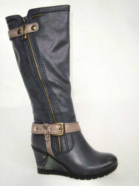 John Garfield Dámská elegantní obuv na klínku km453043-0-19 Velikost  37 a88b603acad