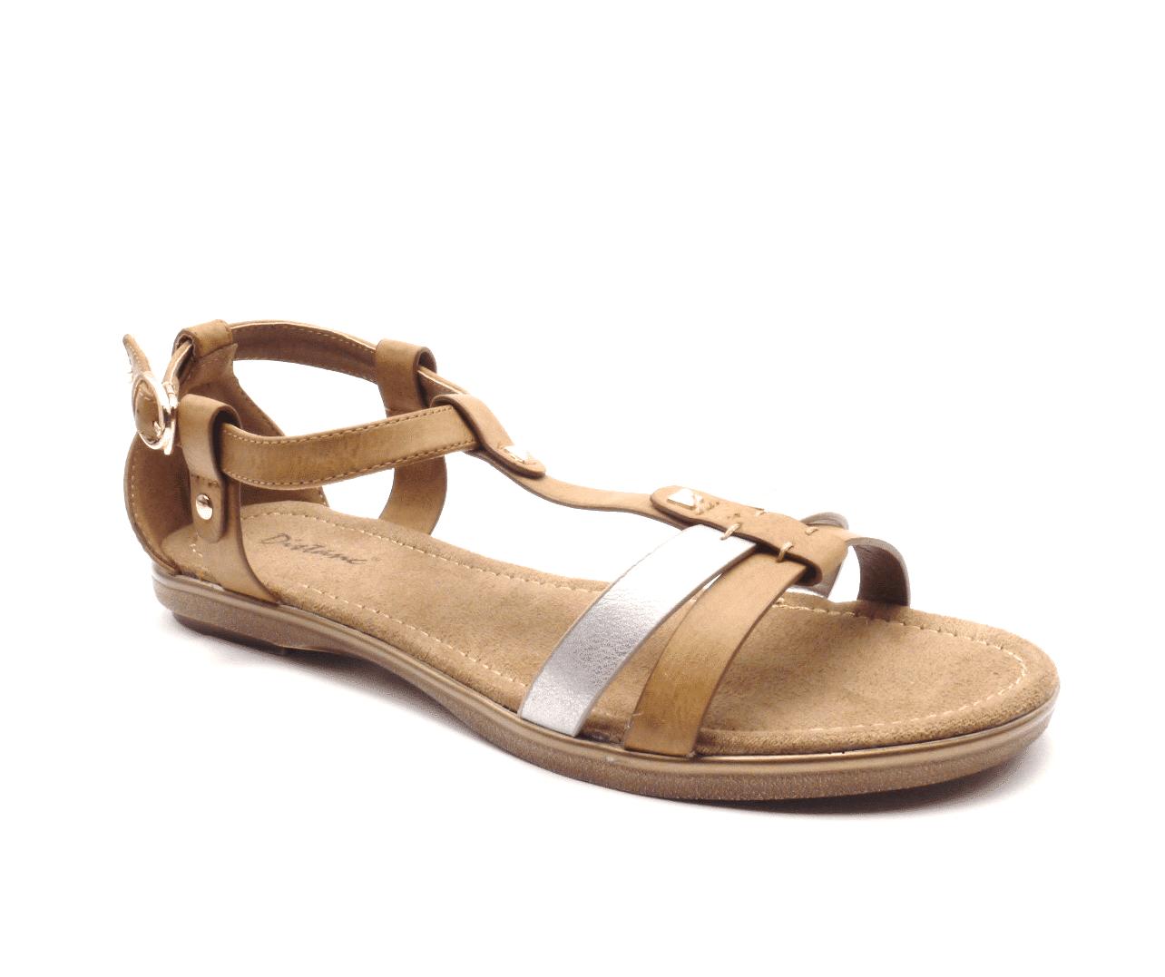 John Garfield Dámské zajímavé sandály LO552495-0-49 Velikost: 37