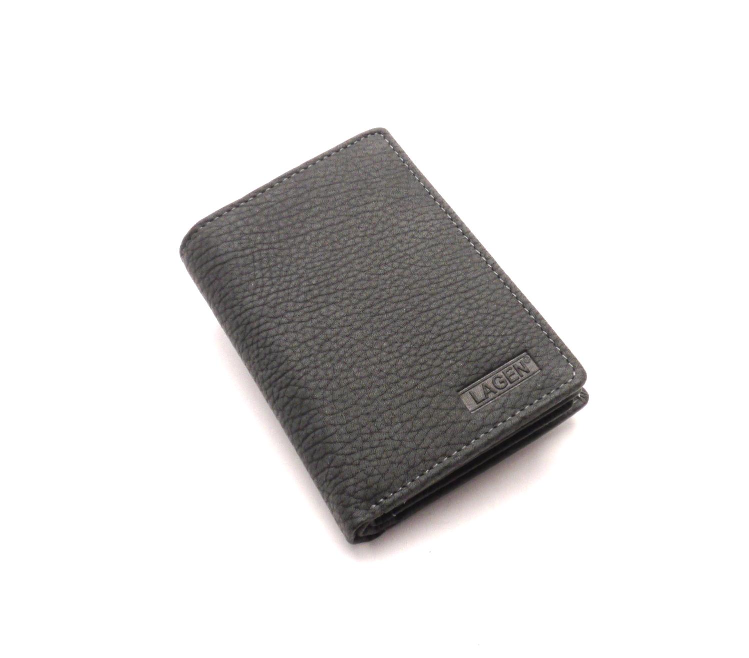 Lagen Pánská peněženka Lm-8314/W BLACK