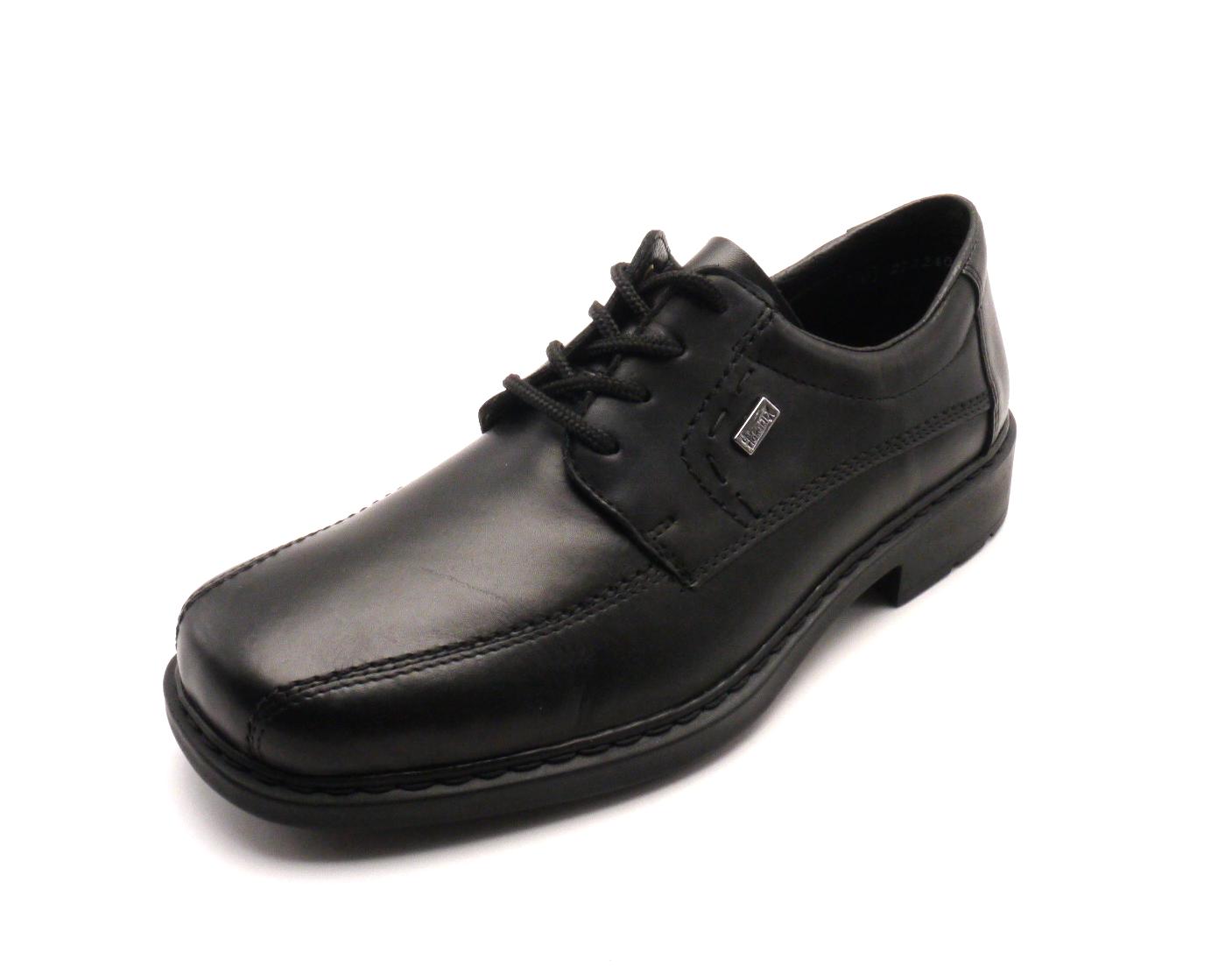 Rieker Pánská obuv s ozdobným prošíváním 12820-00 Velikost  42 9966087049e