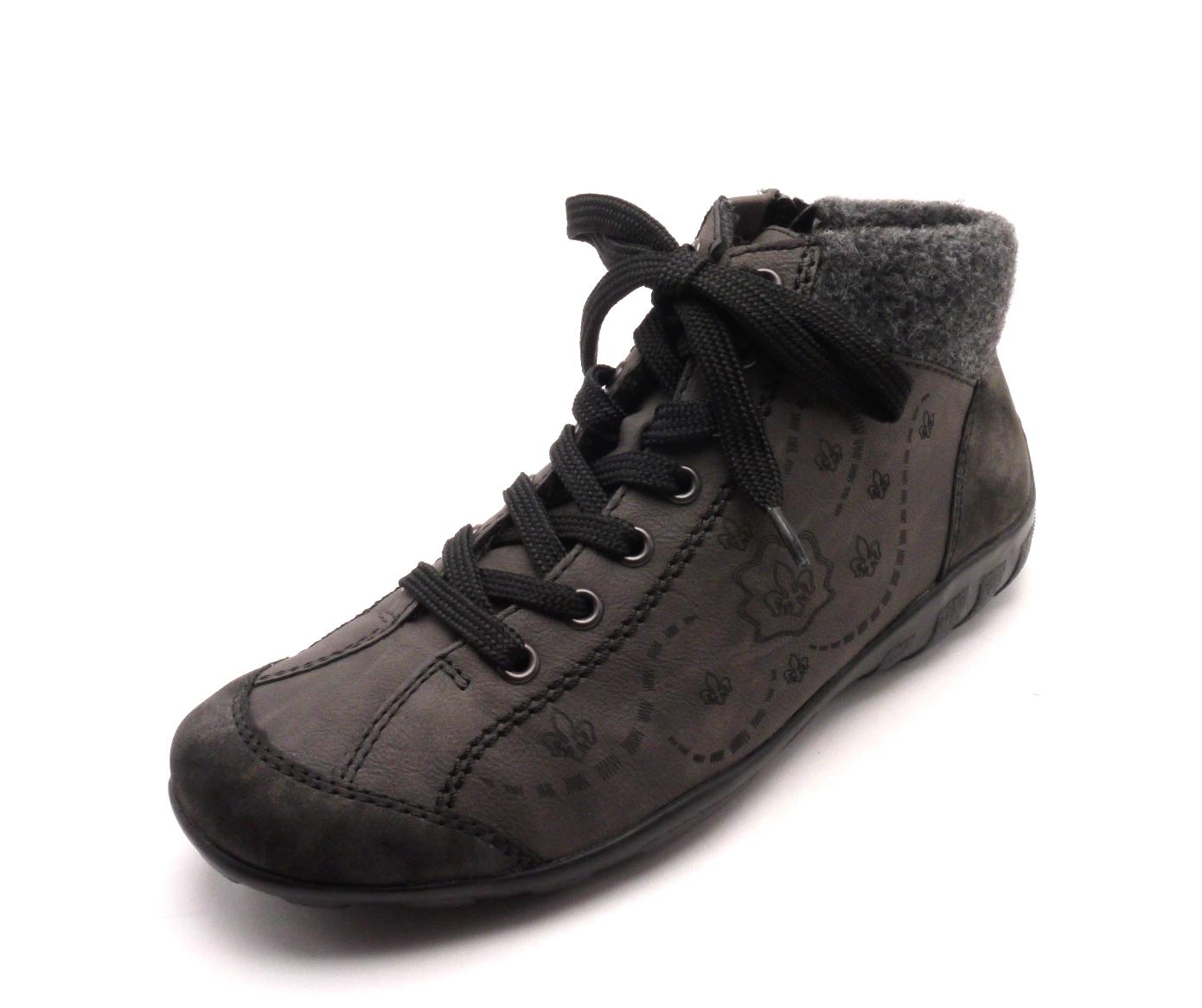 Rieker Dámská kotníčková obuv L6548-45 Velikost: 42