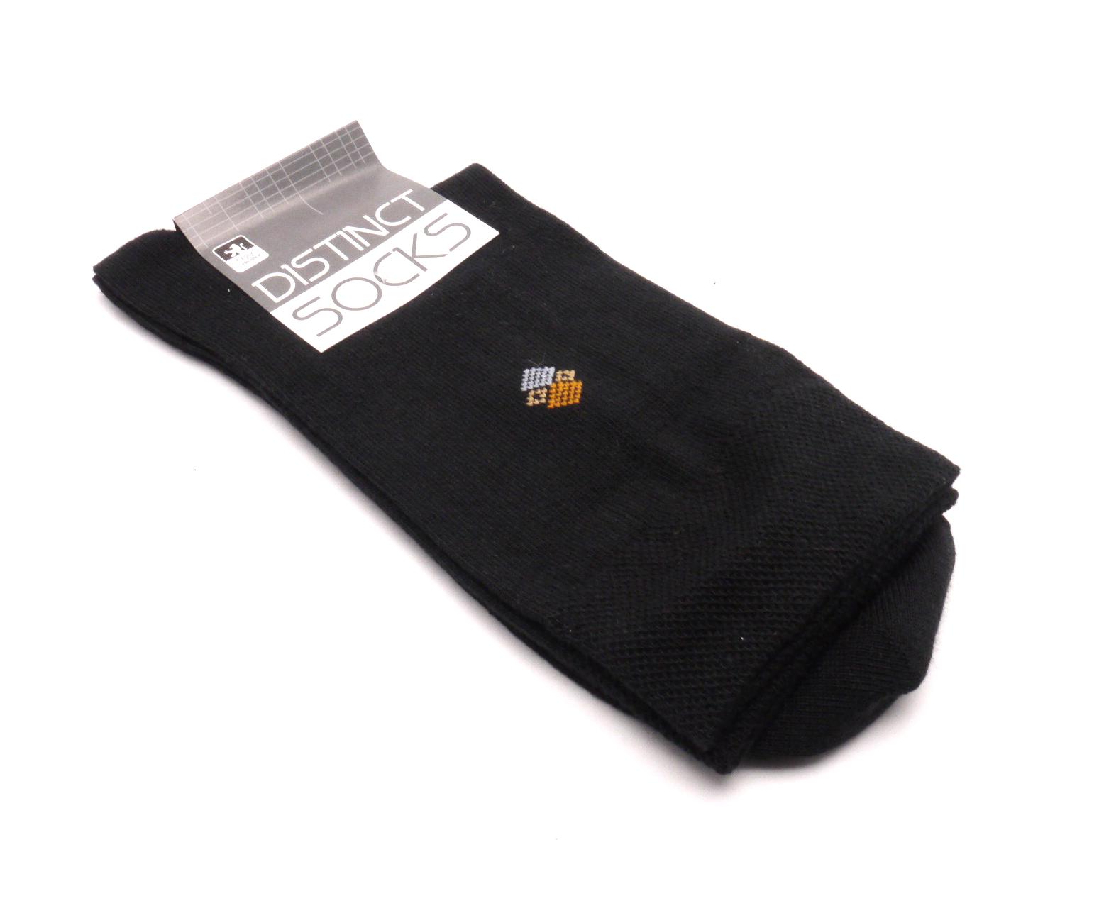 Tapo Ponožky distinct černá - kosočtverec 1 velikost: 43-46