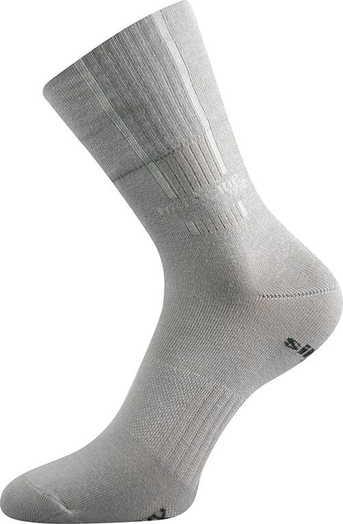 Voxx Ponožky Mission - světle šedá velikost: 35-38