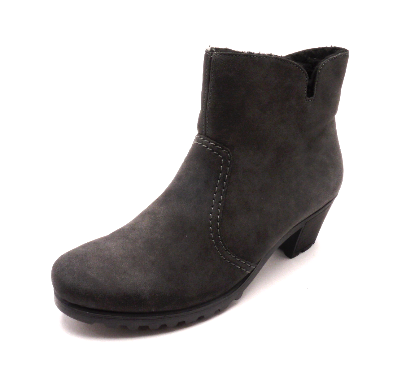 Rieker Dámské šedé kotníkové boty Y8073-45 Velikost: 42