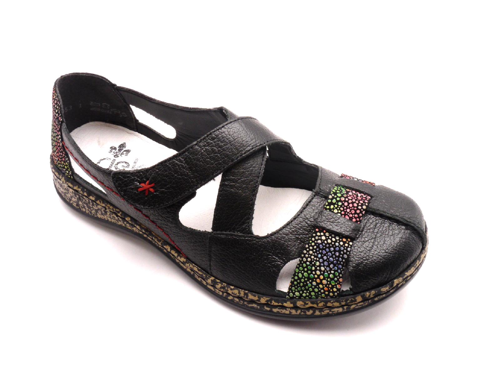 Rieker Dámské pohodlné sandály 46367-00 Velikost: 38