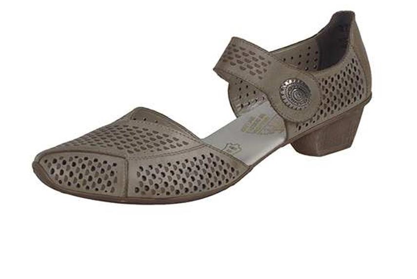 Rieker Dámská perforovaná obuv 49776-62 Velikost: 42