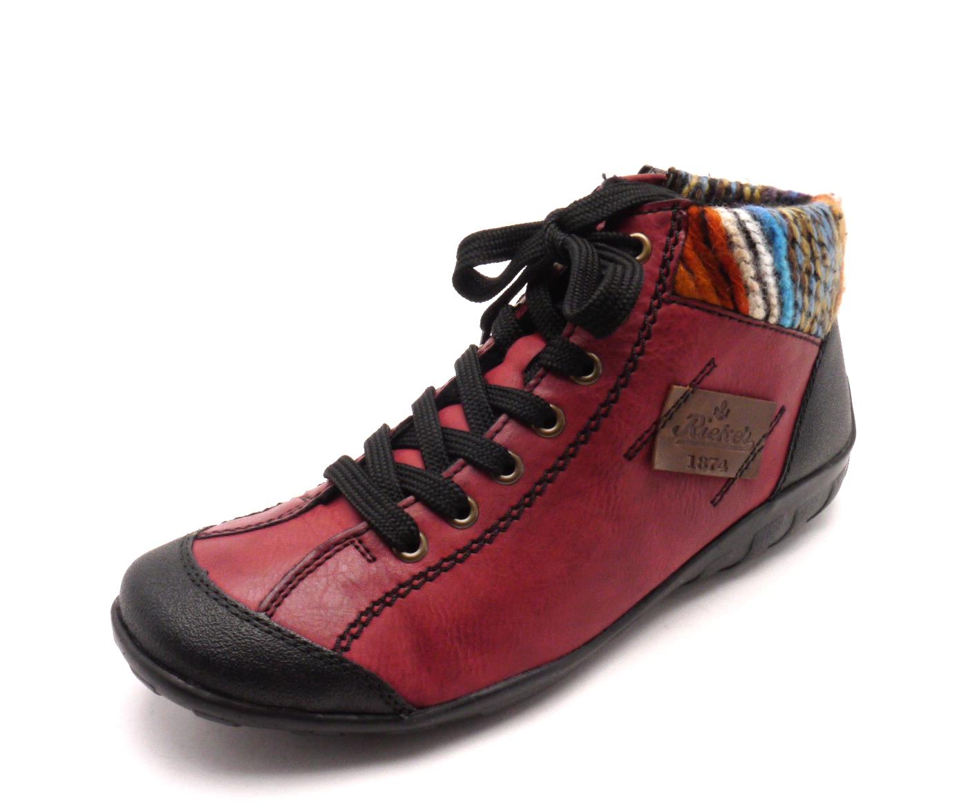 Rieker Dámská kotníčková obuv L6540-00 Velikost: 42