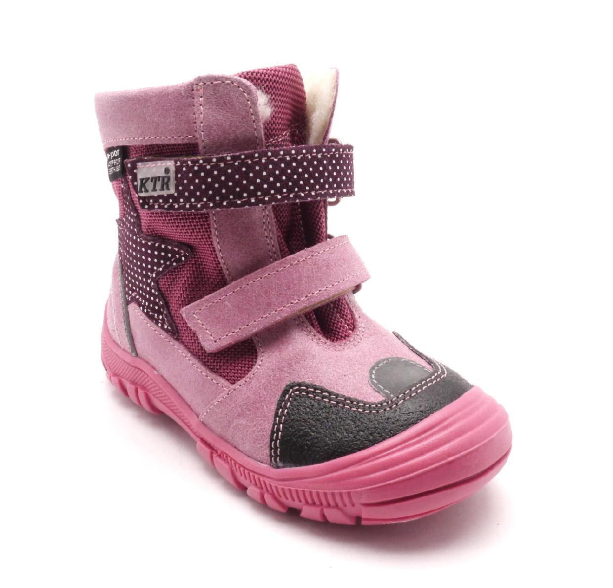 Konsorcium Dětská zimní obuv 315/1/N2 Fuxia Velikost: 23