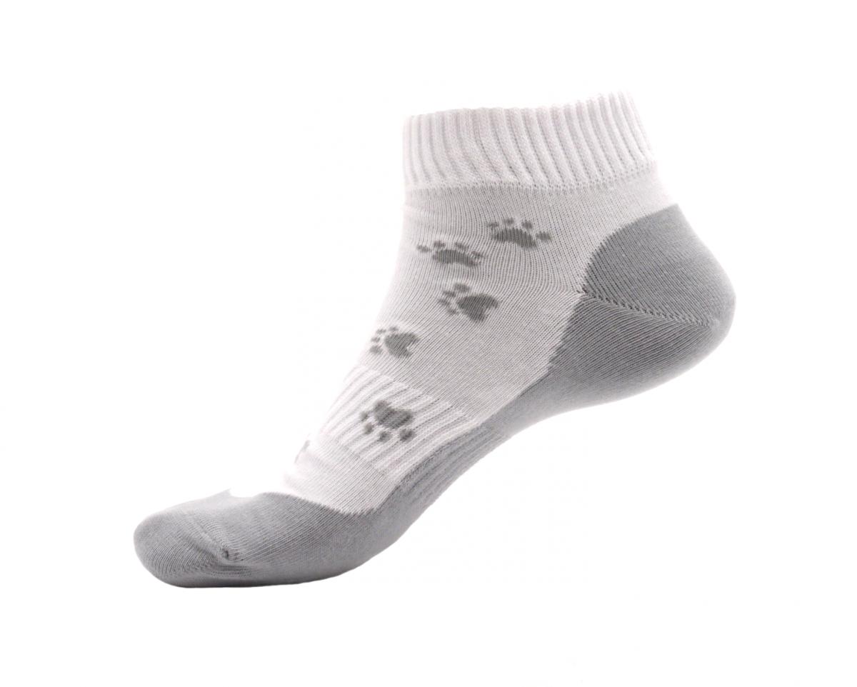 Tapo Ponožky Tlapka šedá nízké velikost: 43-47