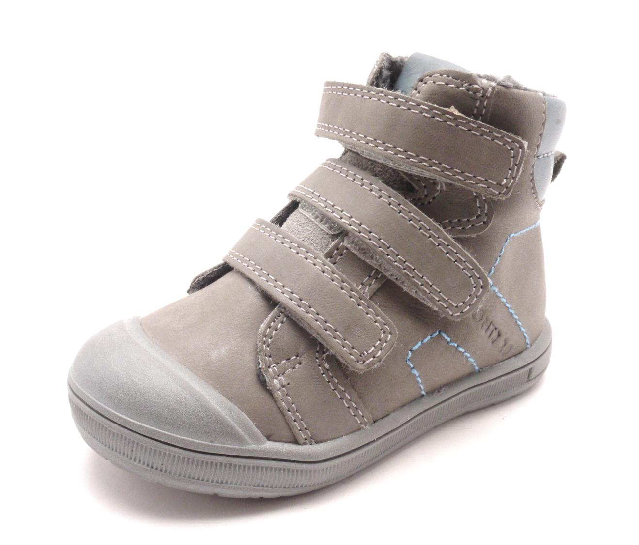 Dětská zimní obuv DA03-111C Grey Velikost: 25