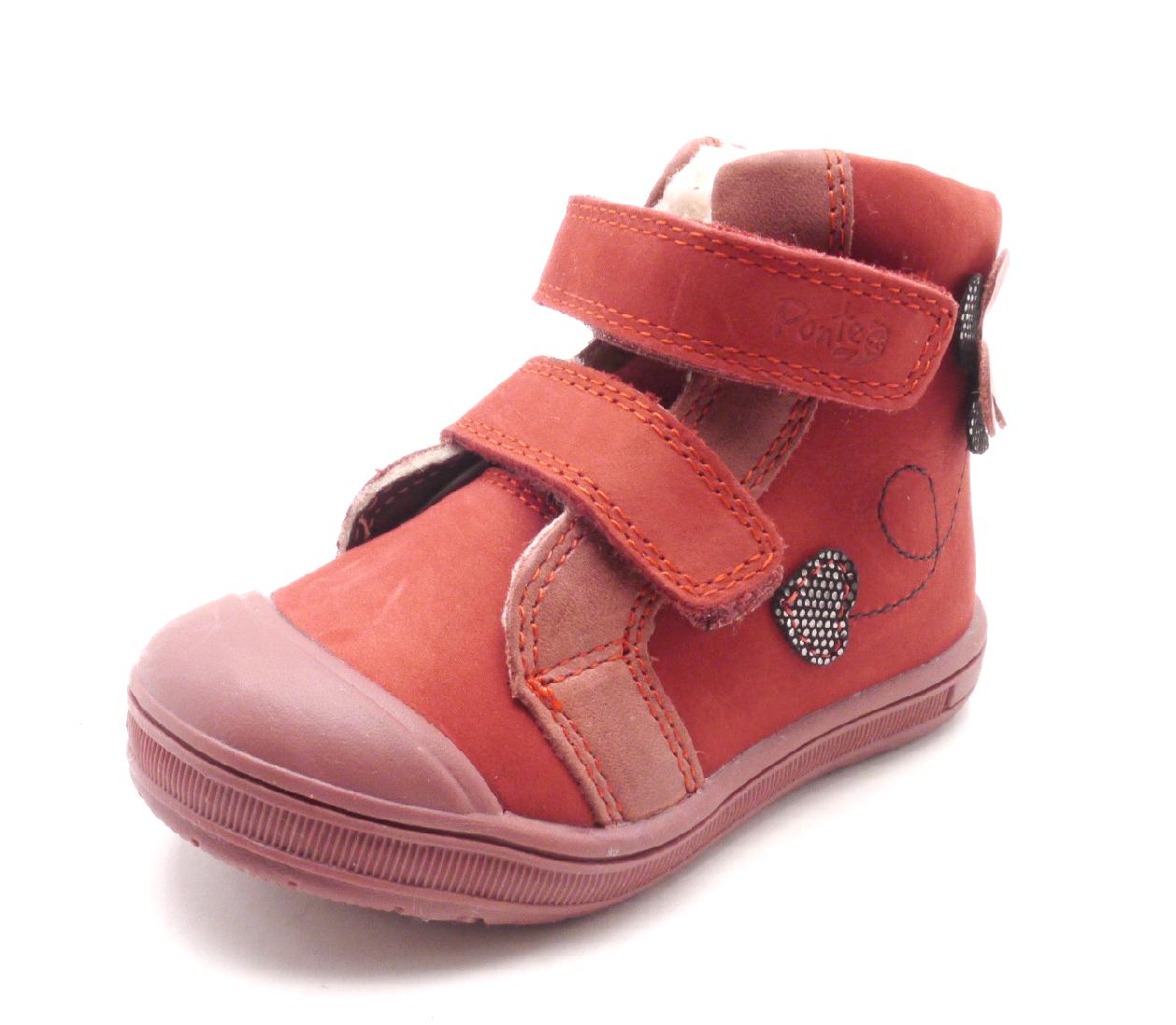Dětská zimní obuv DA03-305A Red velikost: 25