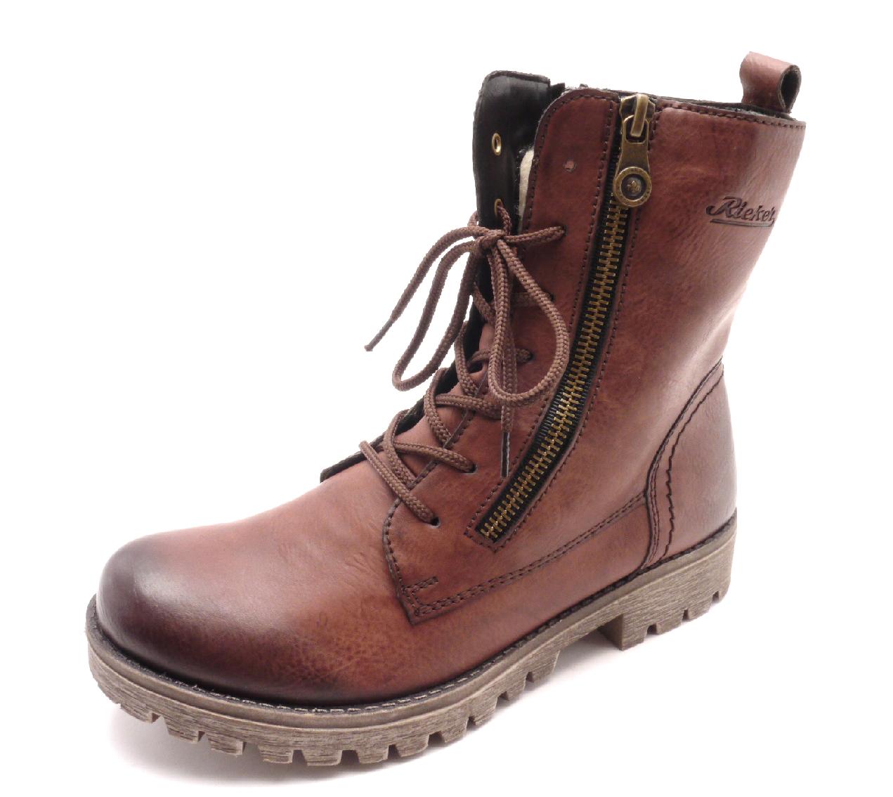 Rieker Dámské kotníkové boty 785C4-35 Velikost: 37