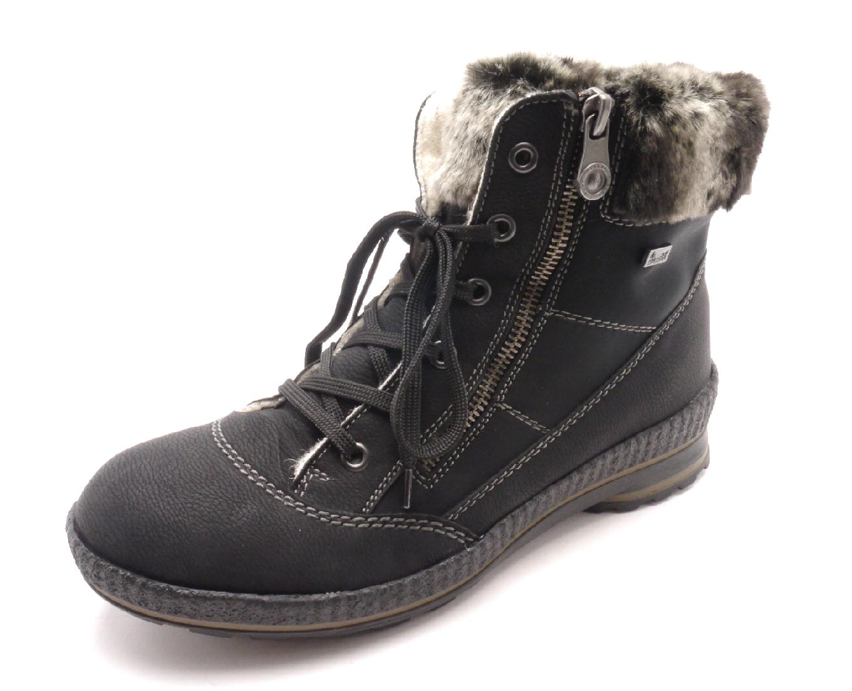 Rieker Dámské kotníkové zimní boty Z2431-00 Velikost  42 22691706e7