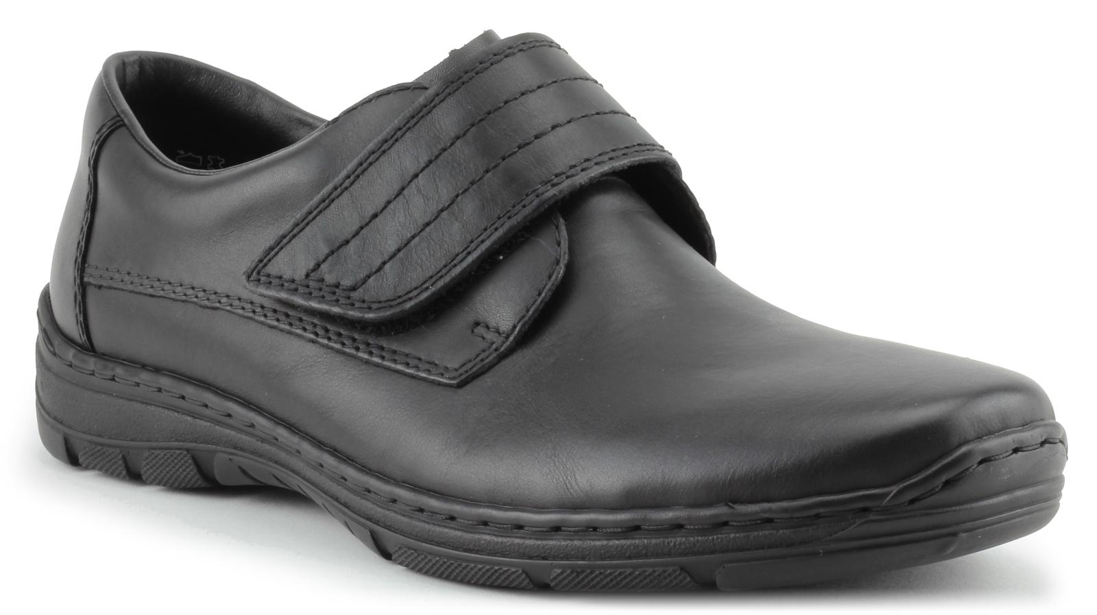 Rieker Pánská obuv se suchým zipem přes nárt 15262-00 Velikost: 41