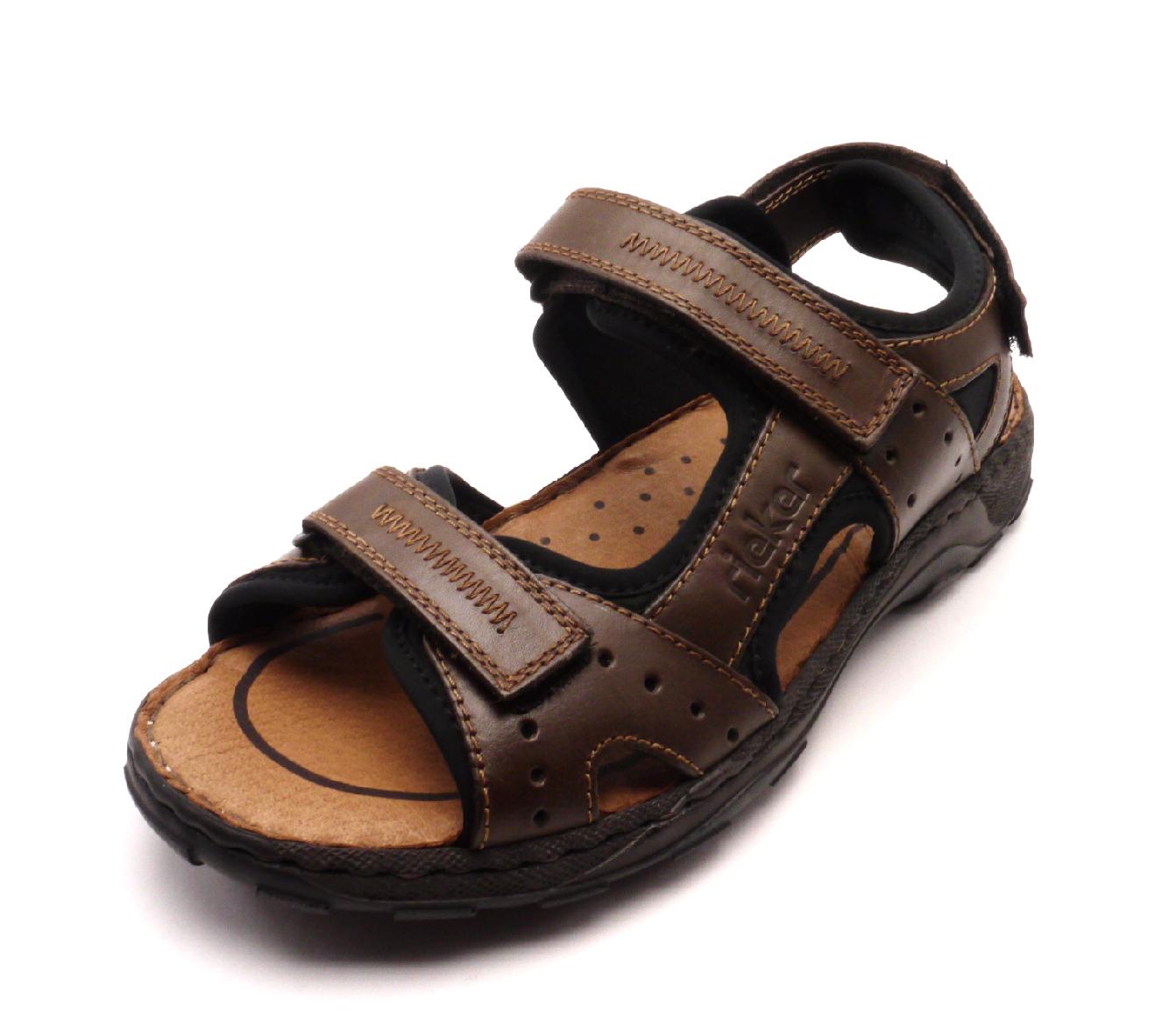 Rieker Pánské pohodlné sandály 26061-25 Velikost: 40